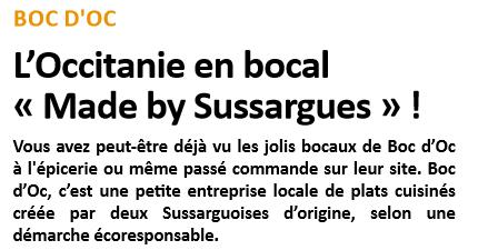 "L'Occitanie en bocal ""Made by Sussargues"" !"